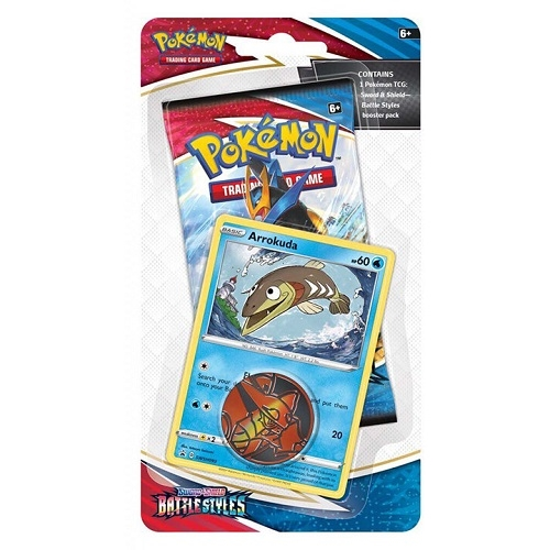 Pokemon Battle Styles - Checklane Blister Arrokuda - Pokemon kort